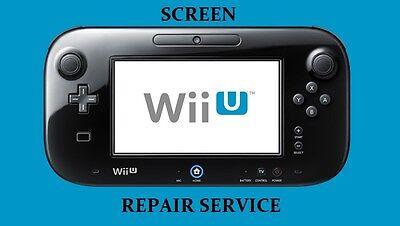 Nintendo Wii U Gamepad Controller Repair Service Includes Screen + Digitizer