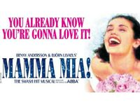 LONDON FOR 2 THIS WEEKEND -COST 567 BUT MAKE ANY OFFER!!! (Mamma Mia & 2 nights hotel)