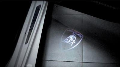 4T0898200 LAMBORGHINI DOOR ENTRY LIGHTS SHIELD LOGO DESIGN NEW