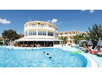 2 x Return Flights from Glasgow - Rhodes (Greece) & Cosmos Maris Hotel Self Catering Accommodation