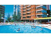 7 nights in Benidorm for 2 - flights + hotel