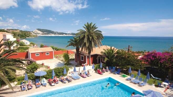Holiday To Zante Greece Beachfront Hotel Complete Thomson Package Car Parking