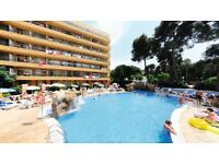 1 week holiday to Salou in Spain for 1 adult and 1 child