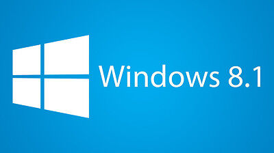 Windows 8.1 All Versions 32 & 64 bit  - Reinstall,  Recovery,  Repair DVD w/Hd