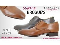Formal men's shoes large sizes 12, 13, 13.5, 14, 15, 16 small sizes 3, 4, 5, 6