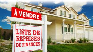 La Prairie maison à vendre. Reprise de finance. Liste gratuite