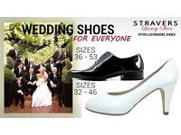 Wedding? Wedding shoes small size 0, 0.5, 1, 2 large sizes 9, 9.5, 10, 11, 12