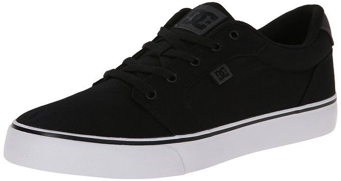 **NWB** DC Men's Black Anvil TX Sneaker (Size 7)