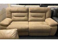 Harvey's Kinman manual recliner 3 seater sofa