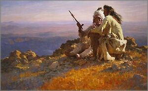 Howard-Terpning-Telling-of-the-Legends-s-N-Limited-Edition-Print-MINT-EBAYLOW
