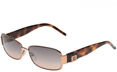 Brand New Givenchy  SGV286 668 Dark Gold/Havana/Grey Gradient Sunglasses