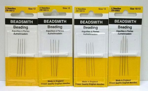 BEADSMITH Beading Needle Quality Bead Needles Beadwork Thread Sewing Seed Beads