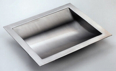 Stainless Steel Drop-in Deal Tray Brushed Finish 16 W X 10 D