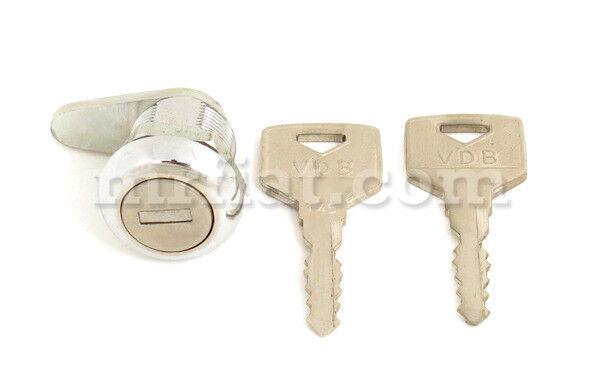 Mercedes 190 Sl Trunk Lock Set W Keys Late New