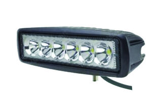 1 PAIR LED LIGHTS 6 DIODES 1440 LUMENS