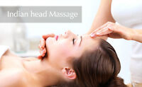 Relax with a session of Ayurvedic Indian Head Massage