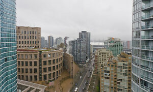 Spacious 2-3 bdr sub-penthouse in the heart of Yaletown - June 1