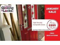 High Security Composite door