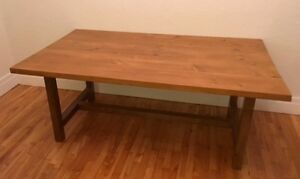 Large rustic dining table (custom made)