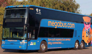 Selling 2 Megabus Tickets to New York