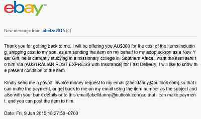 ebay south africa scams and dating