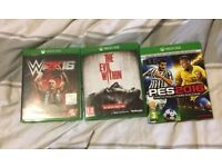 Xbox One Games Bundle Or Individual Items