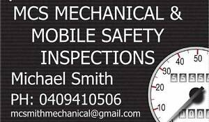 Mobile Roadworthy Service - MCS Mechanical and Safety Inspections Logan Area Preview