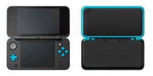 2 Ds XL bleu avec Case Bleu