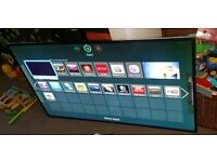 Samsung 60 inch led smart wifi new condition fully working