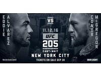 2x UFC 205 Tickets £1300 each