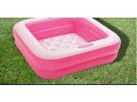Girls swimming pool