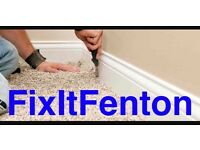 Flooring services (FixItFenton)
