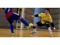 Indoor Goalkeeper Needed for 5 A Side football in Walthamstow @ 9pm to 10pm