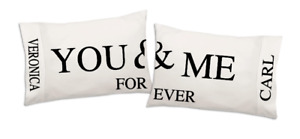 Customized pillow cases custom and personal