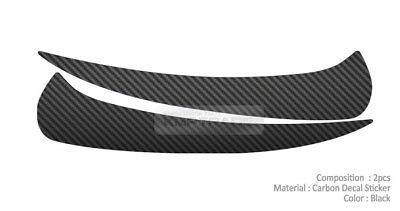 Front Head Light Lamp EyeLine Carbon Decal Sticker for CHEVROLET 2010-2015 Spark