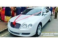 Bentley Flying Spur / Rolls Royce Ghost / Nissan GTR / Wedding Car / Chauffeur / Luton Van Hire