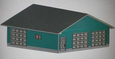 30' x 30' GARAGE Blow the whistle on buy PLANS MATERIALS LIST & BLUEPRINTS