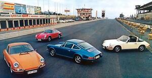 1970 Porsche 911T 911E 911S Targa Factory Photo u2571-QOZVRM