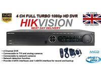4 Channel Full New Turbo HD 1080p Hikvision