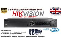 DVR 8 Channel in Full HD 1080p HIKVISION