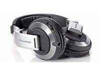 Pioneer HDJ 2000 (MK1) Headphones Black/Silver