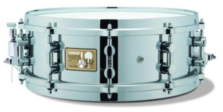 Sonor 14x5 Phil Rudd Chrome Over Brass Signature Snare SSD 11 1405 PR