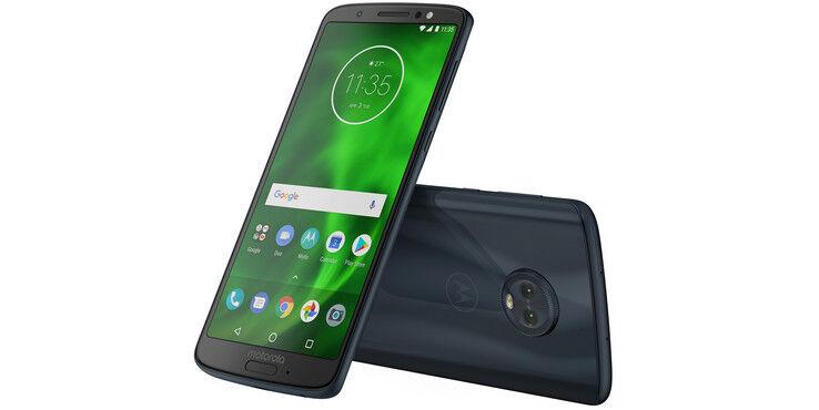 Motorola G6 – 32 GB – Unlocked  – Black -  - PAAE0000U