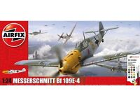 Airfix 1:24 Bf109 Gift Set - Brand New.
