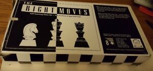 THE RIGHT MOVES CHESS SET
