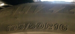 Winter Tires 195/50R 16  84H BL