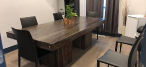 Très grande table Artemano collection Anand - 1250$