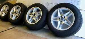 BMW PIRELLI SCORPION WINTER TIRES/WHEELS