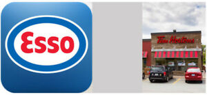ESSO GAS STATION FOR SALE NEXT TO TIM HORTONS