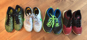 kids sneakers and cleats - size 2
